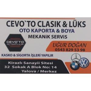 CEVO'TO CLASİK & LÜKS OTO SERVİS Oto Tamir Servisi Yalova